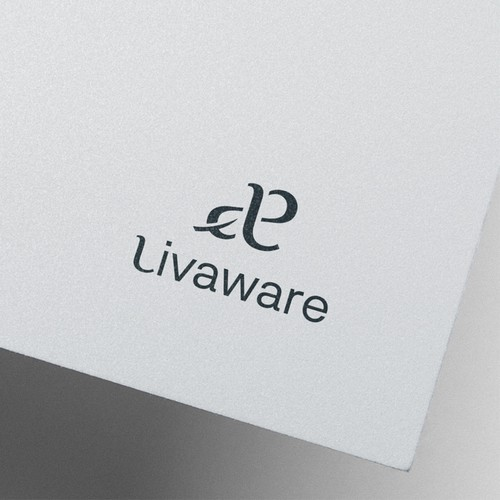 Ecological brand with the title 'Livaware logo'