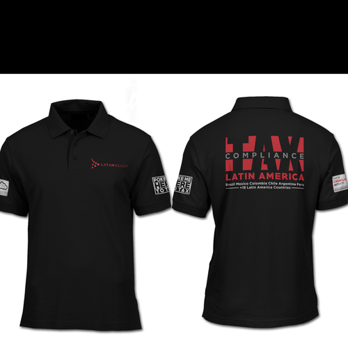 Business t-shirt with the title 'POLO SHIRT DESIGN'