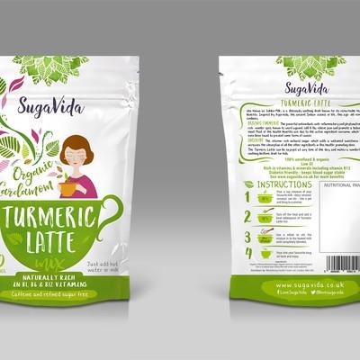New range of healthy turmeric latte