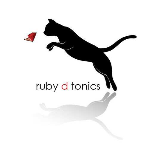 Jewel logo with the title 'Logo for Ruby D Tonics -- need elegant simplicity!'