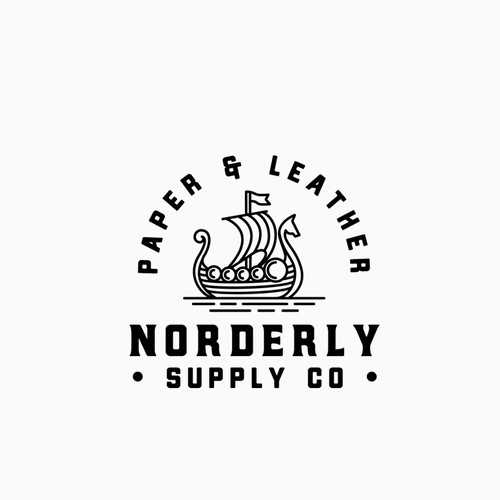 Viking logo with the title 'Norderly Supply Co'