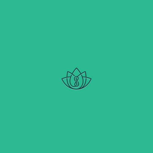 Calming design with the title 'Zen inspired logo'