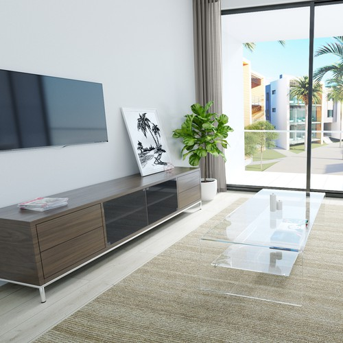Realistic design with the title 'Interior apartment visualisation'