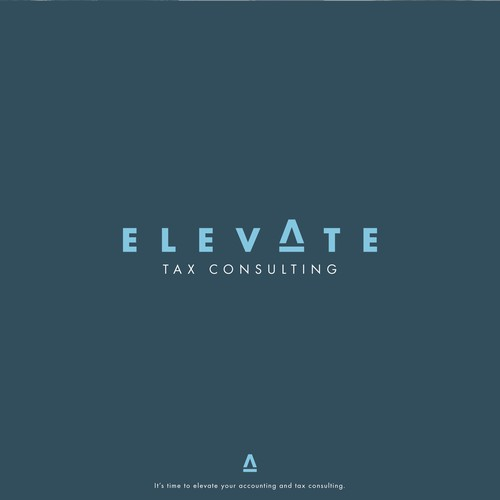 Tax logo with the title 'Elevate | Wordmark'
