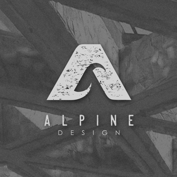 Creative brand with the title 'Alpine'