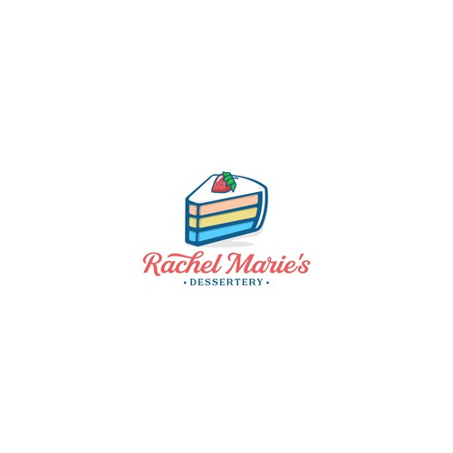 Dessert design with the title 'Logo'