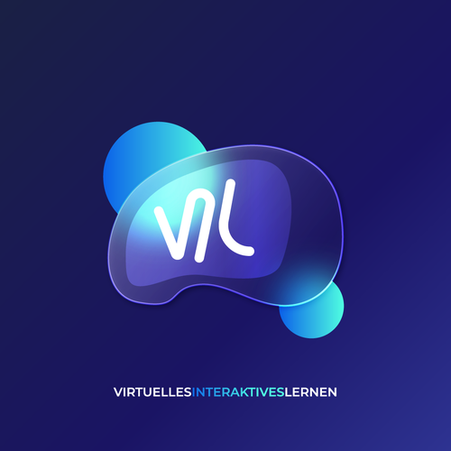 VR brand with the title 'Logo Concept for Virtual Reality Company'