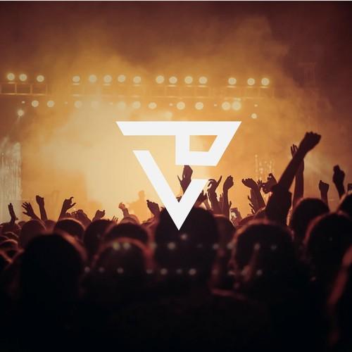 Portfolio logo with the title 'Party Logo Design '