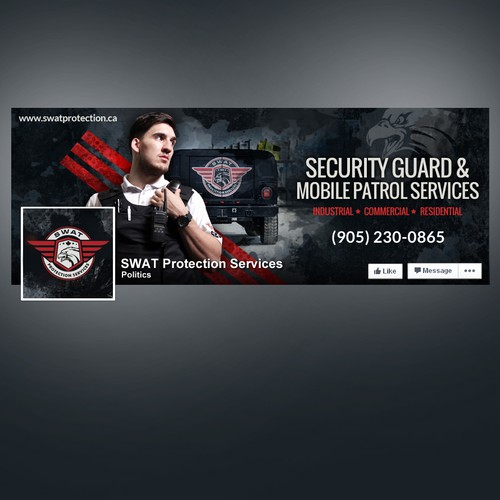 Protection design with the title 'FaceBook Cover'