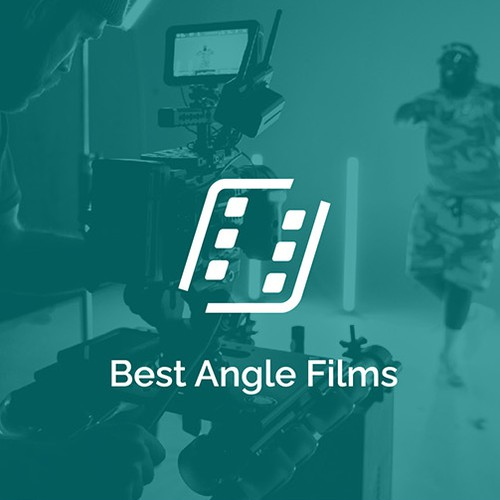 Film design with the title 'Best Angle Films'