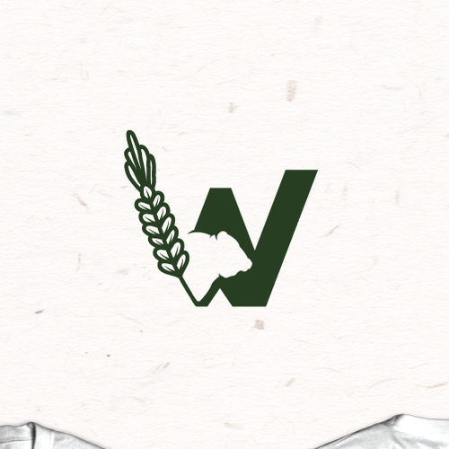Rodeo logo with the title 'W cattle logo '