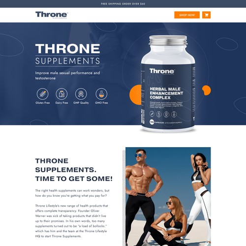 Supplement website with the title 'Supplement Website'
