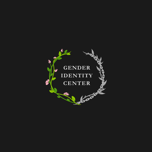 Chain logo with the title 'Gender Identity Center'