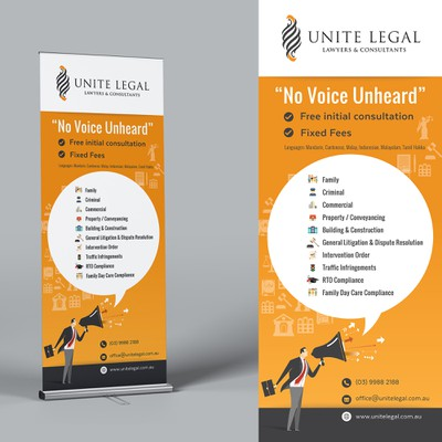 Design Banner for a Legal Practice