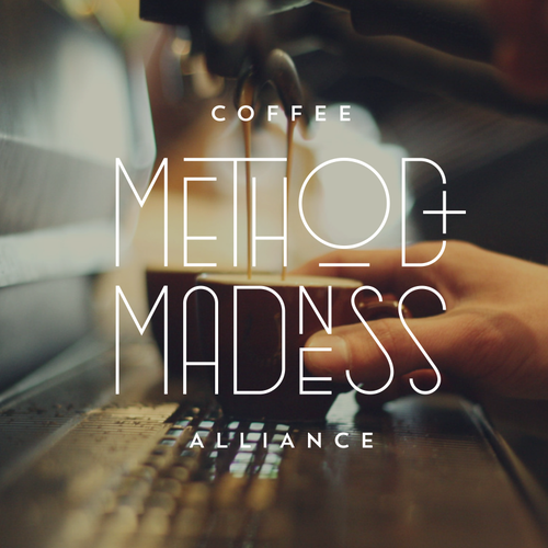 Custom font design with the title 'Method + Madness'