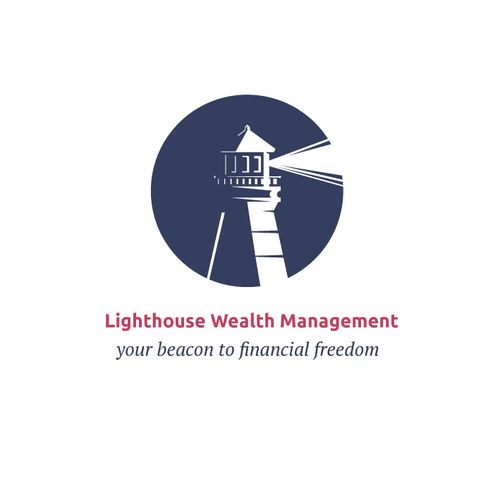 Beacon design with the title 'Lighthouse Wealth'