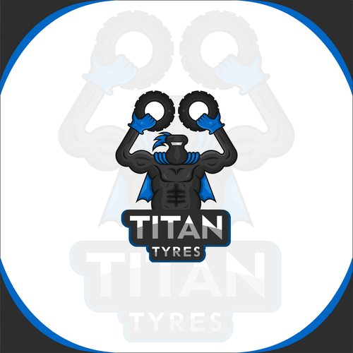 Titan design with the title 'Titan Tyres LOGO'