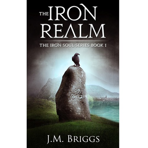 Celtic design with the title 'The Iron Realm'