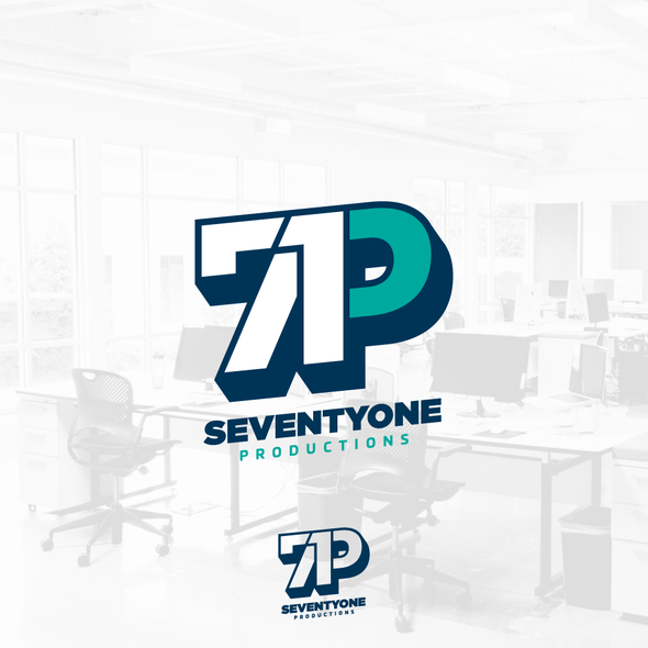 Three-color design with the title '71P'