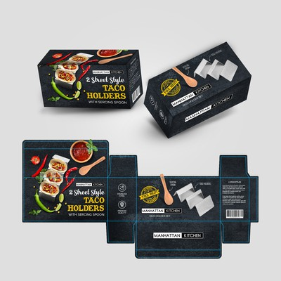 Taco Holders Box