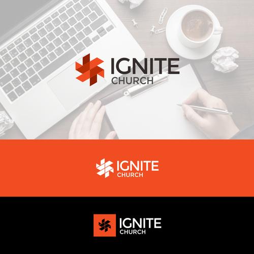 Ignite logo with the title 'Ignite Church'