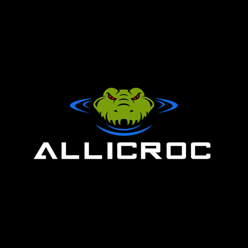Crocodile logo with the title 'ANGRY CROC'
