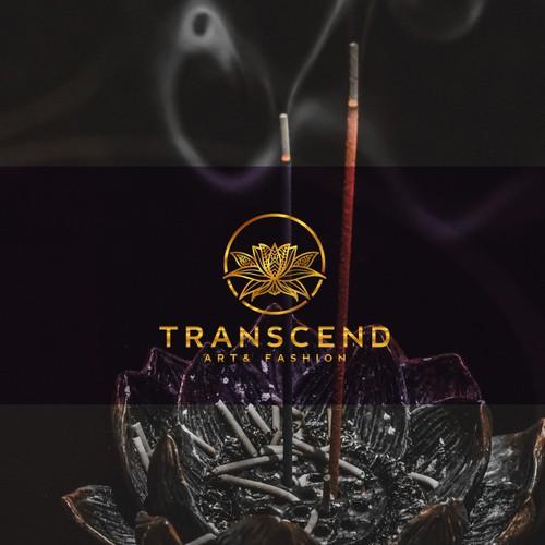 Mandala logo with the title 'Graceful Transcend Logo design concept!'