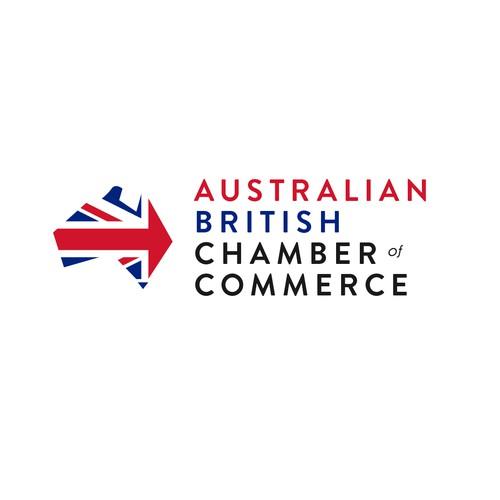 British design with the title 'Australian British Chamber of Commerce'