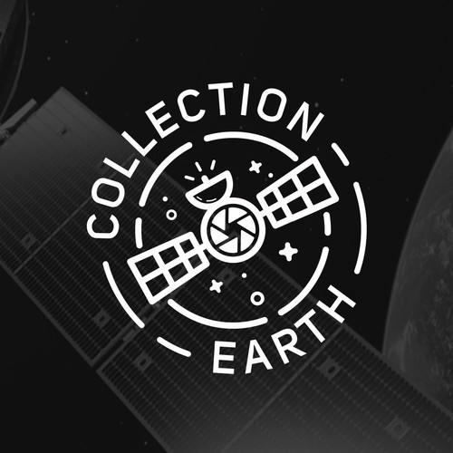 Earth logo with the title 'Satellite Photo'