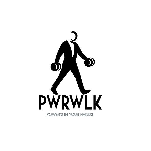 Walking design with the title 'PowerWalk'