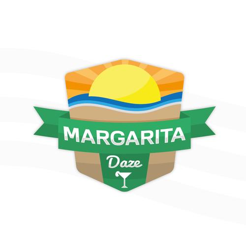 Margarita design with the title 'Margarita Daze'