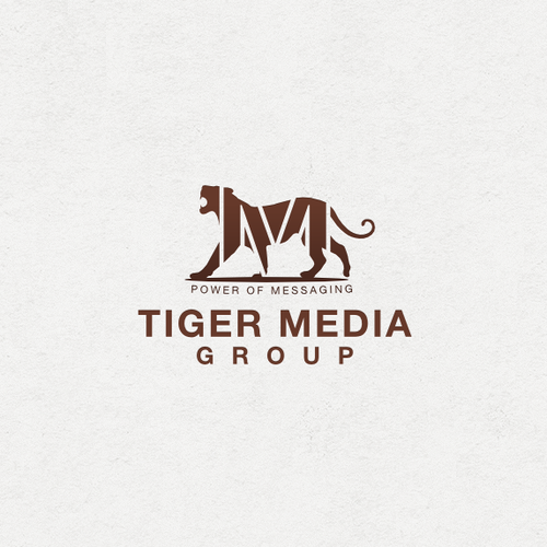 Tiger logo with the title 'Tiger Media Group needs a new logo'