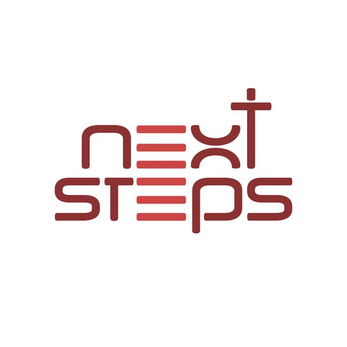 Step logo with the title 'Next Steps Church Logo'
