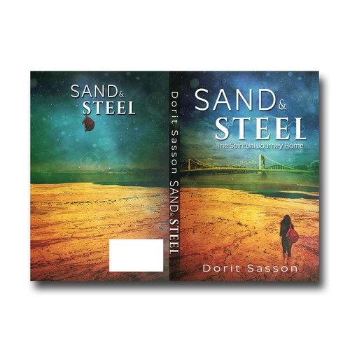 Sand design with the title 'Sand & Steel'