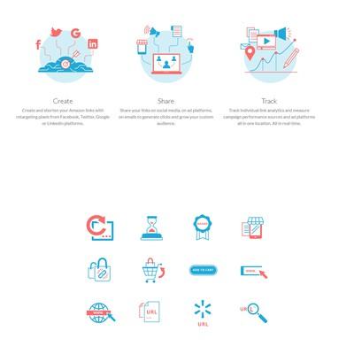 Pixelify web site icons