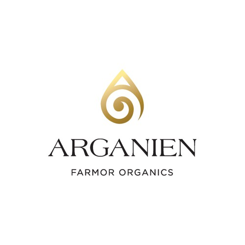 Natural logo with the title 'Arganien'