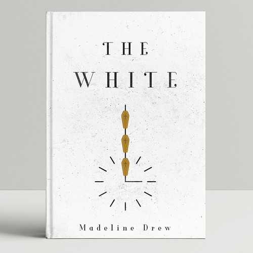Novel book cover with the title 'The White'