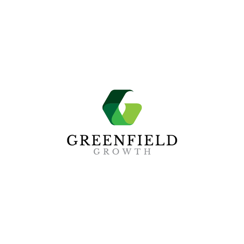 Shading design with the title 'Logo for Greenfield Growth'