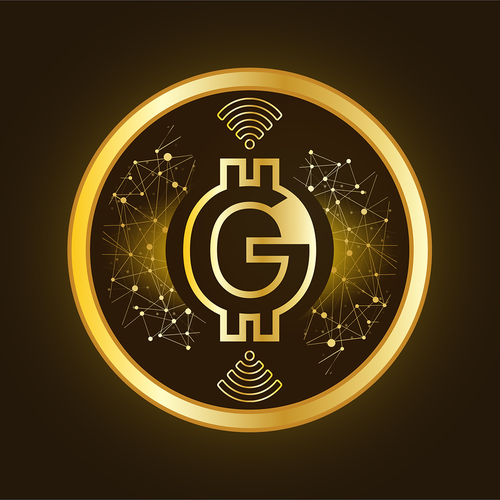 Coin illustration with the title 'OG Crypto Coin Design'