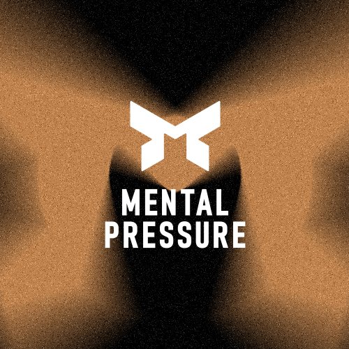 Lifestyle logo with the title 'MENTAL PRESSURE'