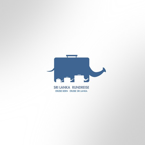 Suitcase logo with the title 'Winning Entry_Sri Lanka Rundreise'