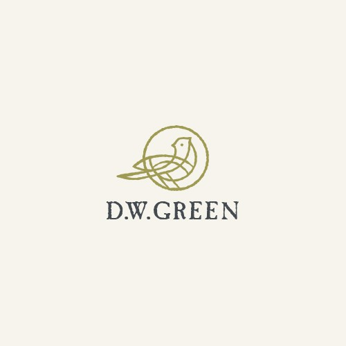 Distressed design with the title 'D.W. Green'