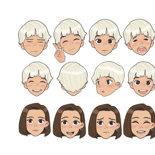 Emoji artwork with the title 'Emote '