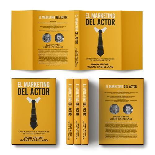 Acting design with the title 'EL MARKETING DEL ACTOR'
