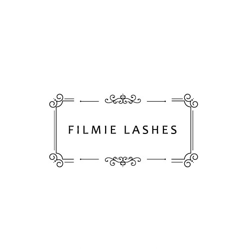 Eyelash logo with the title 'Filmie Lashes needs a Vintage themed Logo'