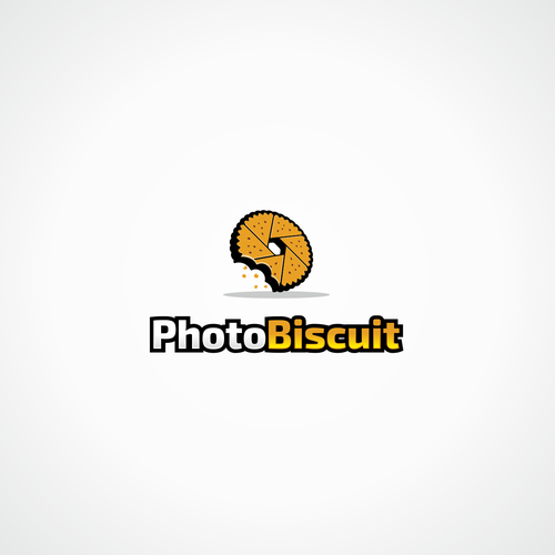 Biscuit design with the title 'Logo for a product/service that creates extraordinary memories from ordinary photos'