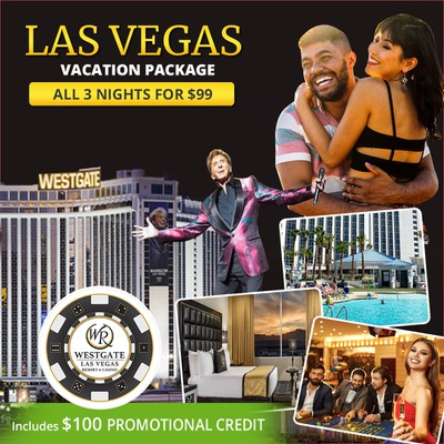 Creative Facebook ad for LAS VEGAS