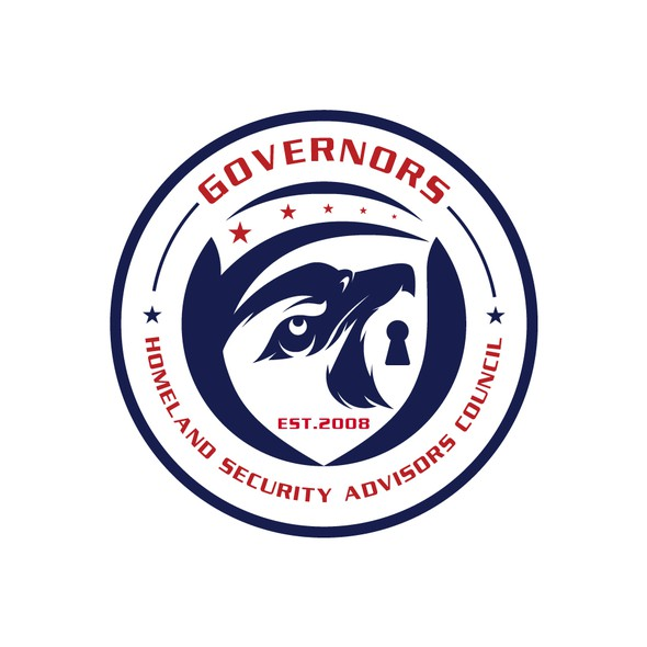 Eagle eye logo with the title 'Governors Homeland Security Advisors Council'