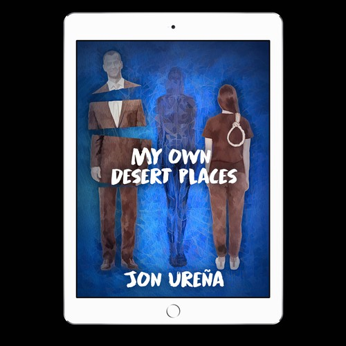 Comedy book cover with the title 'My Own Desert Places'