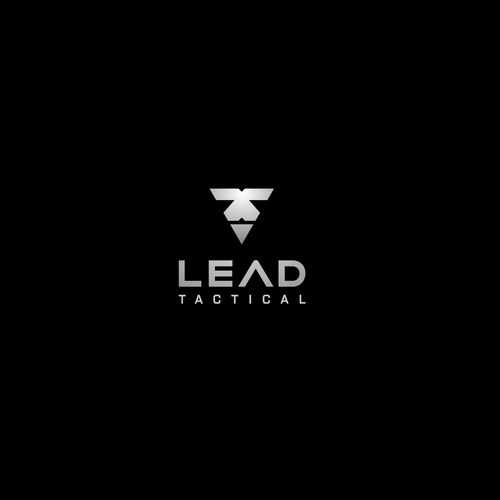 Metal brand with the title 'Lead Tactical Logo'